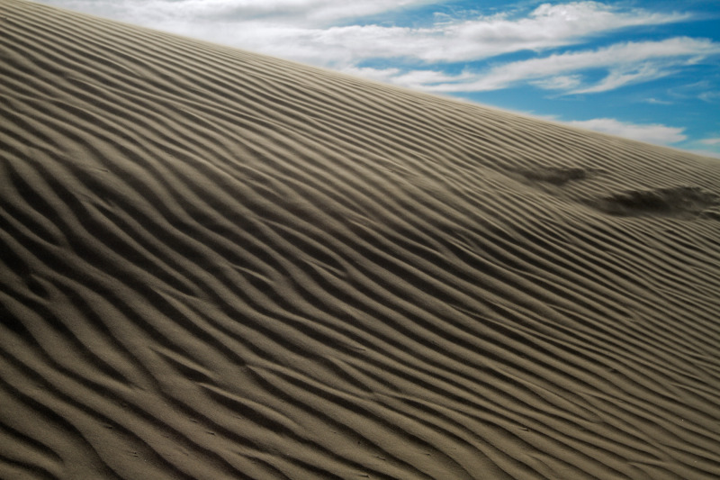 Sand Dunes Boar's Tusk Wyoming Rock Springs Wild W