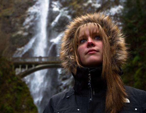 Portland oregon Multnomah falls Carrie McCarthy