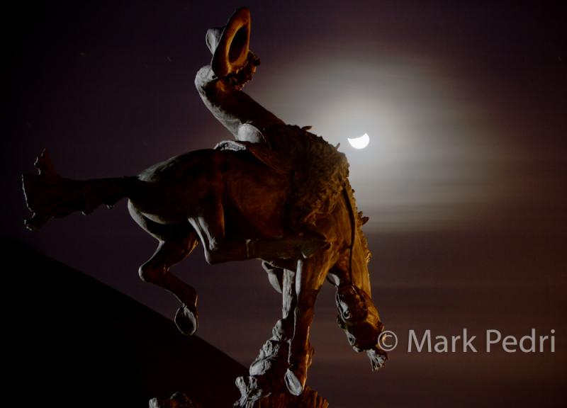 University of Wyoming UW Bucking Horse Laramie