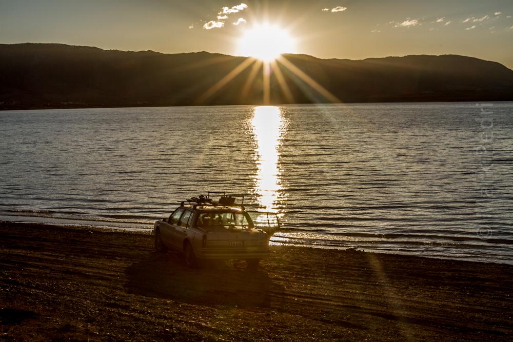 Laramie, Hatti, Lake, Sunset, Spring, Buick, Tan