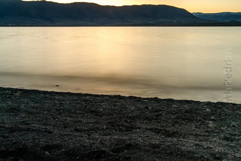 Laramie, Hatti, Lake, Sunset, Spring, Glass