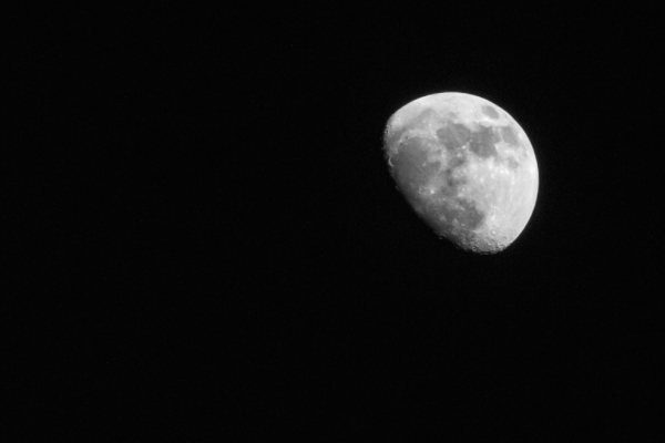 Huge Moon Wyoming Bright Night