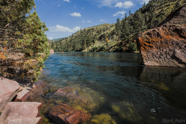 Blue Water, Green River, Flaming Gorge