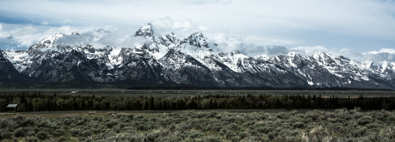 Tetons, Grand Teton, Wyoming, Mountains