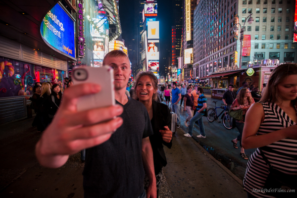 Jessica Jensen, Kylie, NYC, Times Square