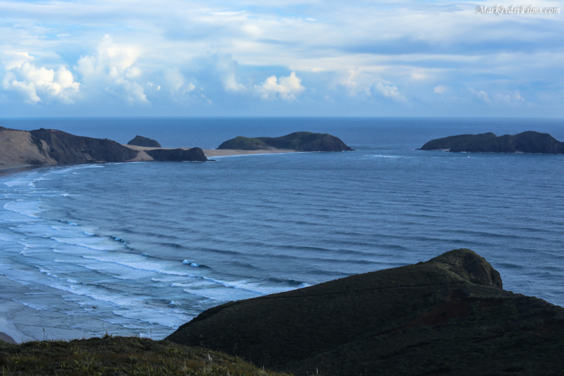 North tip of the north island of New Zealand