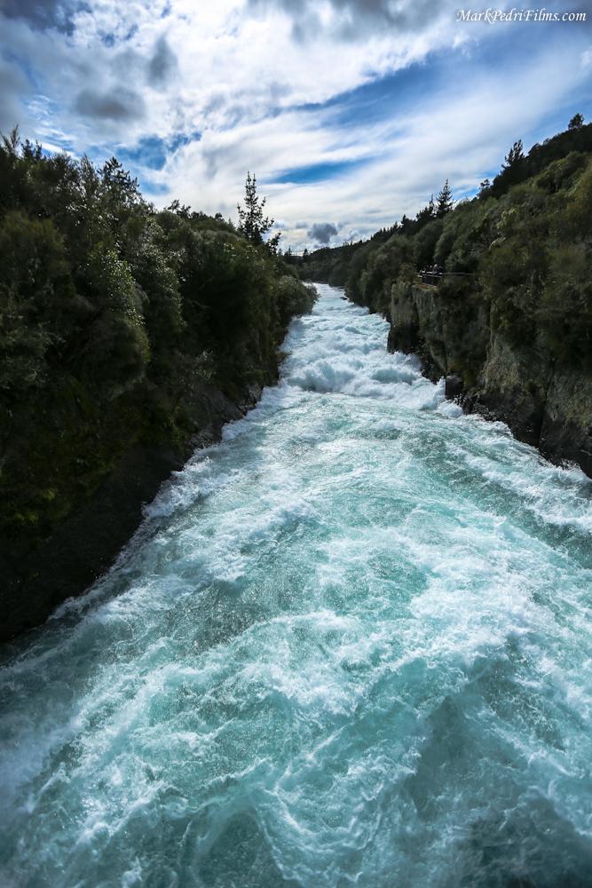 New Zealand, Haka Falls, North Island