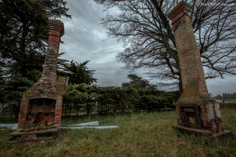 Fire Place, Chimney, Old, Ruins