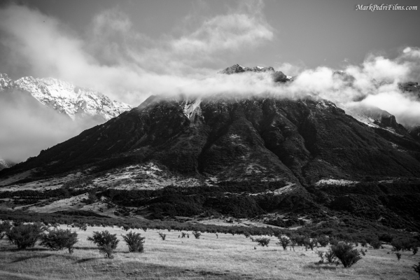 Southern Alps, New Zealand, Mt Cook, Volcano