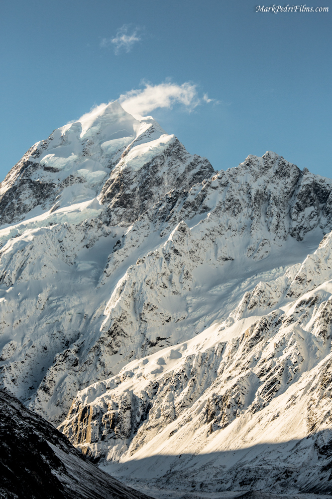 Mt Cook, New Zealand, Mountain, Snow, Peak