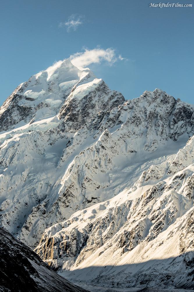 Mt Cook, New Zealand, Mountain, Snow, Peak