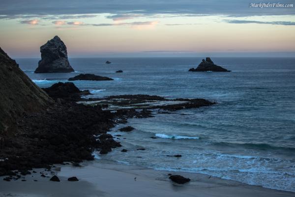 New zealand, Beach, Sandfly, Rock