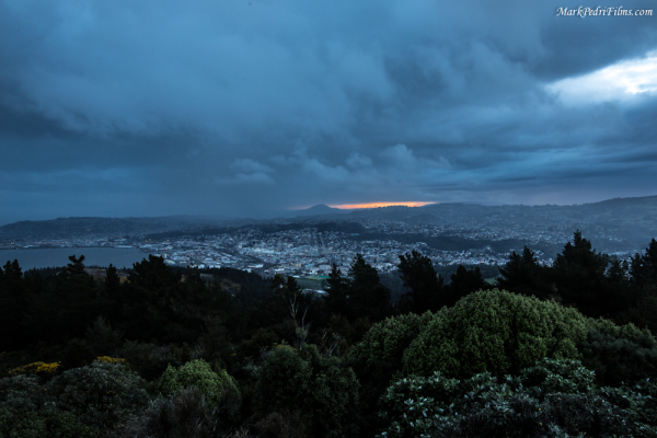 New Zealand, Dunedin, Storm, Winter