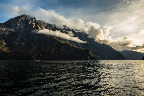 Milford Sound, New Zealand, Boat