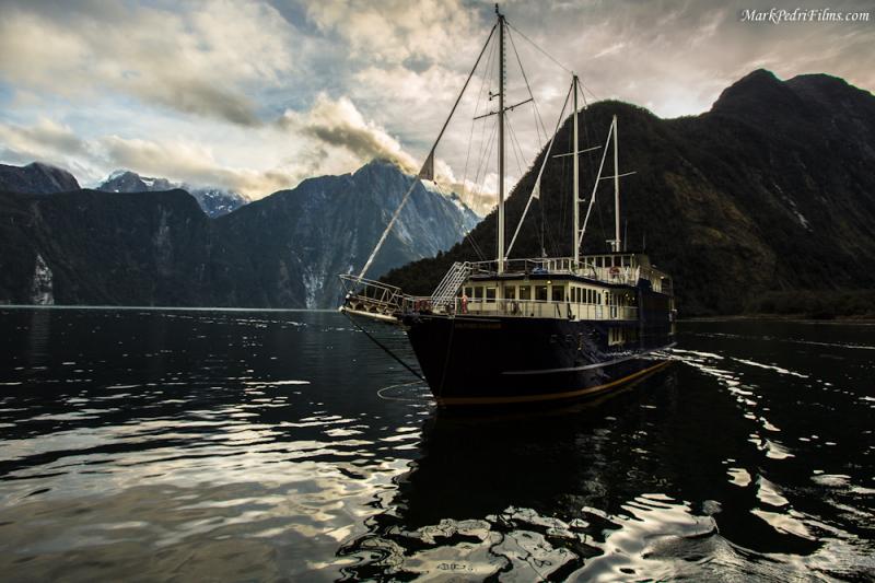 Boat, Fjorlands, Milford, New Zealands