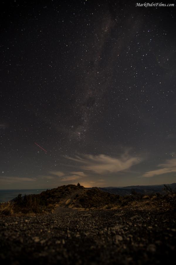 New Zealand, Kaikora, Mountains, Night
