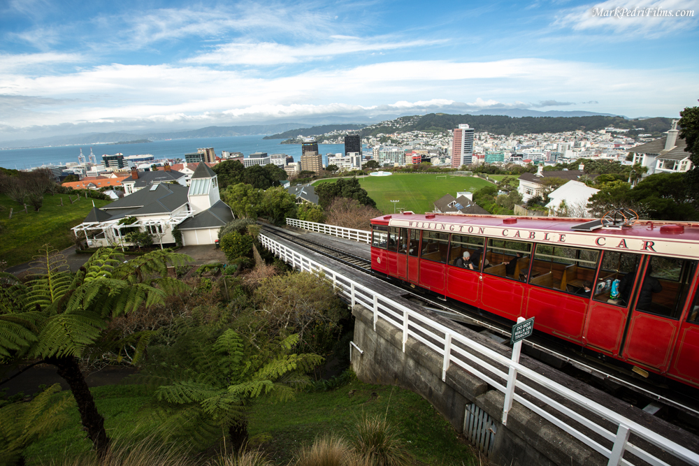 Wellington, Cable Car, City