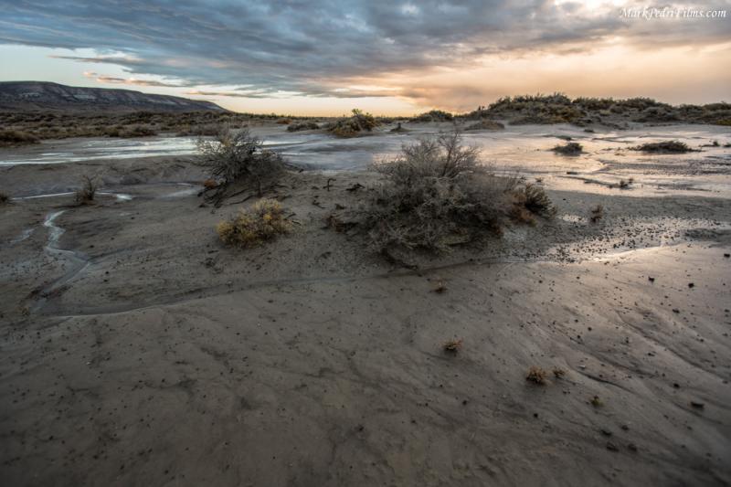 Wyoming, Sunset, Desert, Rock Springs