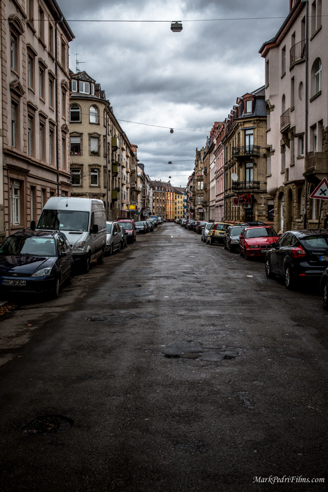 Mannheim, Germany, Street, Skinny