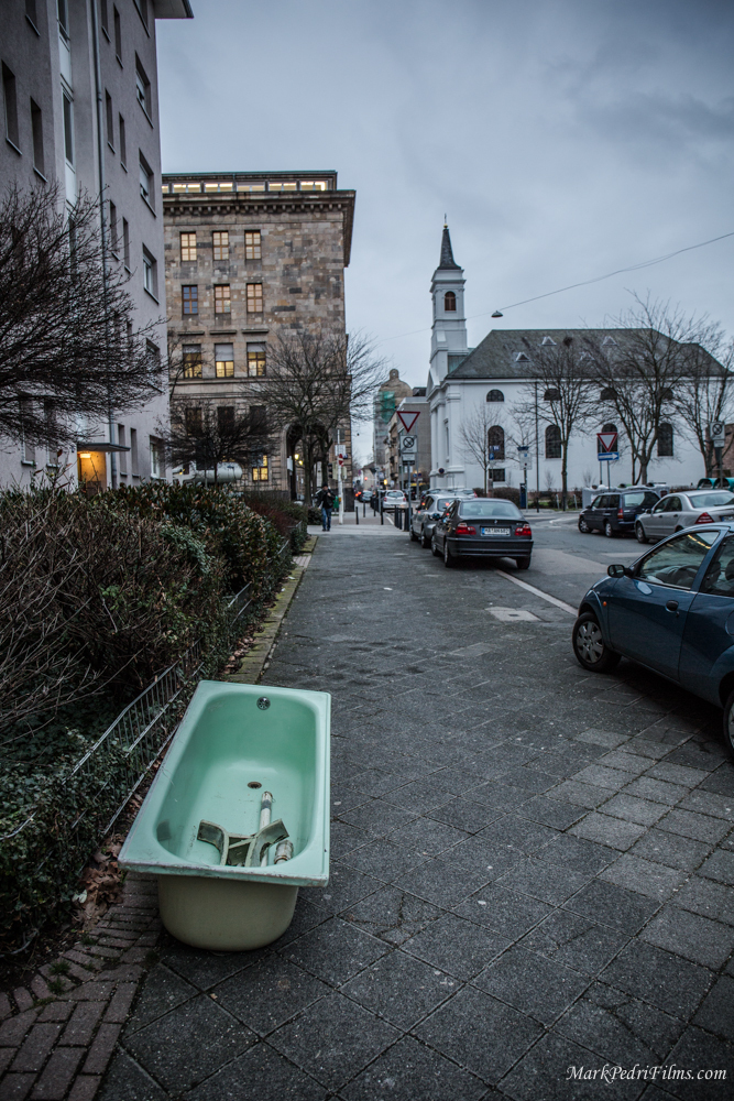 Bath tube, Mannheim, Germany