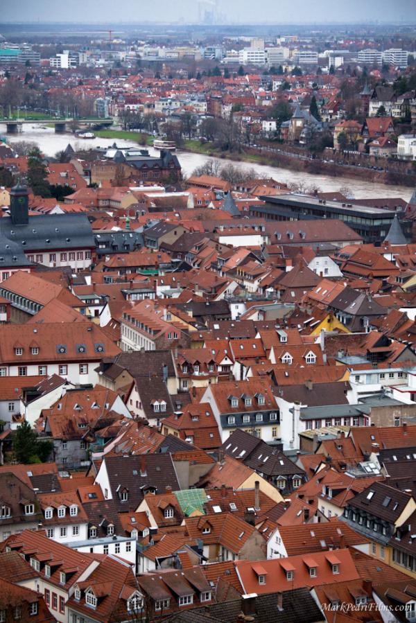 Heidelberg, Roofs, Schloss, Castle