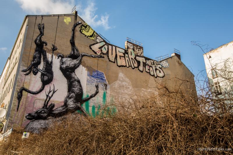 Berlin, Graffiti, Street