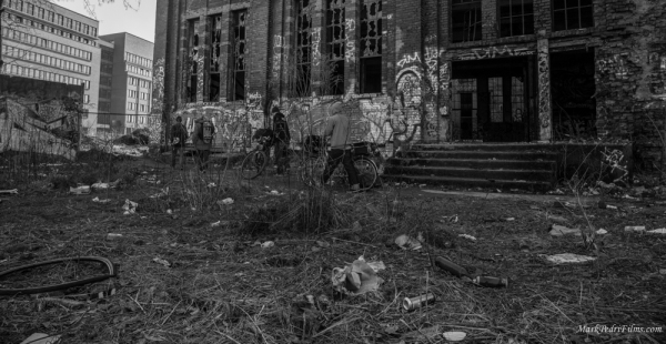 Berlin, Graffiti, Street, abandoned