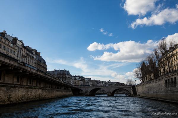 Paris, France, River, Boat