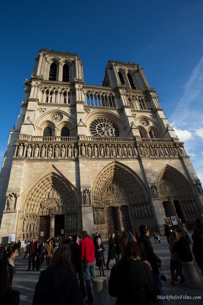 Paris, France, Cathedral, Notre Dame