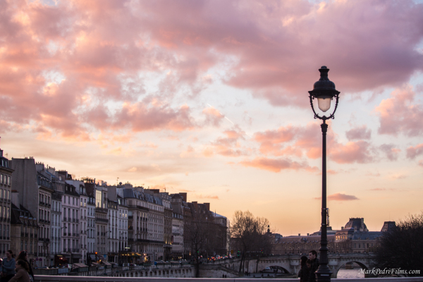 Paris, France, Latin, Sunset