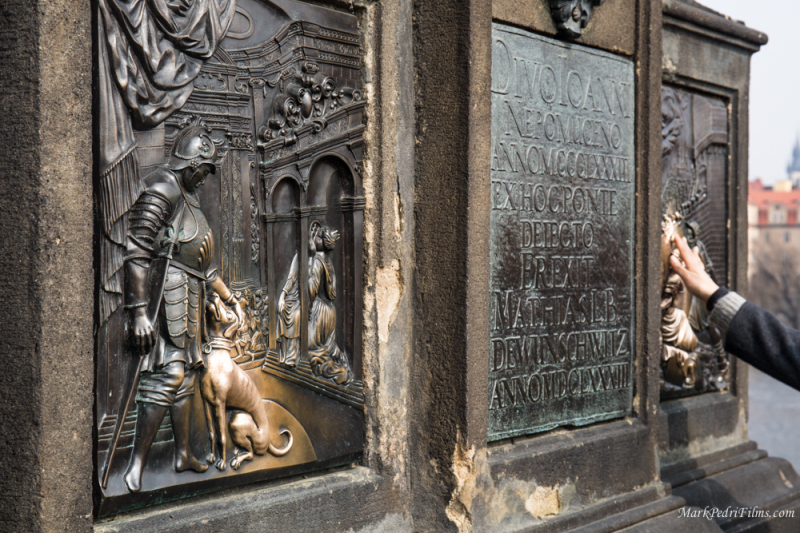 Prague, Dog, Bronze