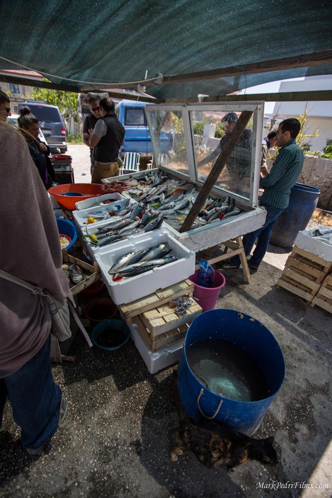 Turkey, Alacati, Market, Food