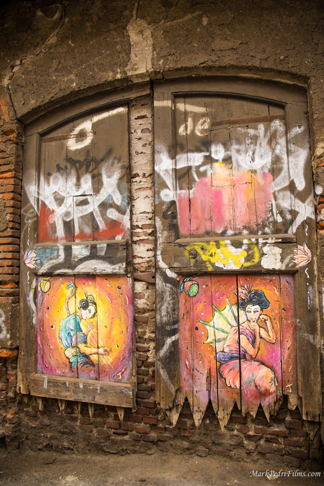 Italy, Milan, Door