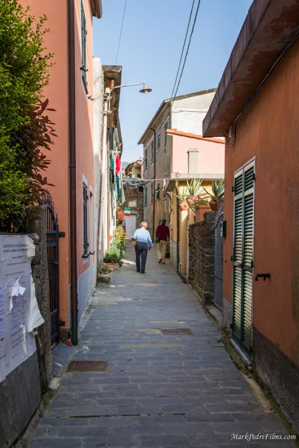 Cinque Terre, village