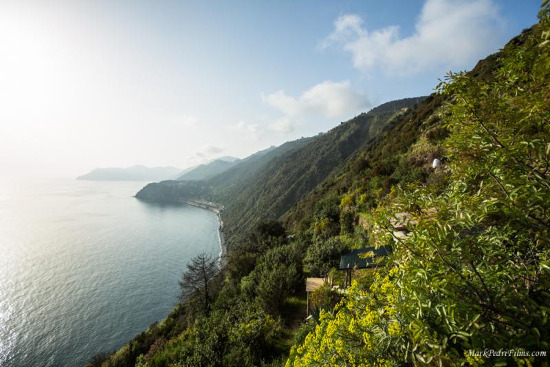 Italy, Cinque Terre, Sea, Mountains
