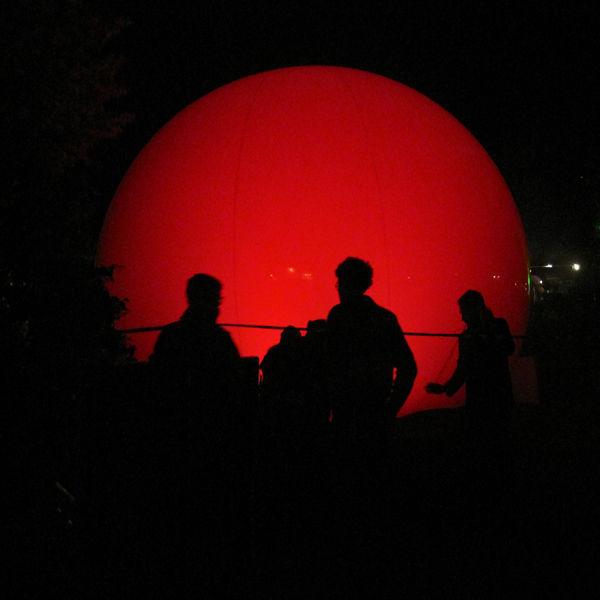 big red ball