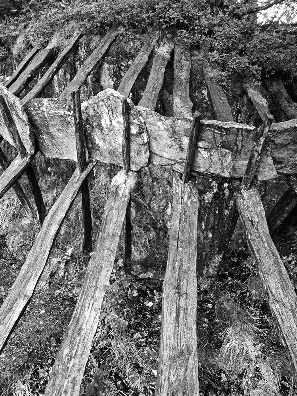 wood, slate & steel