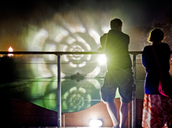 festival light show