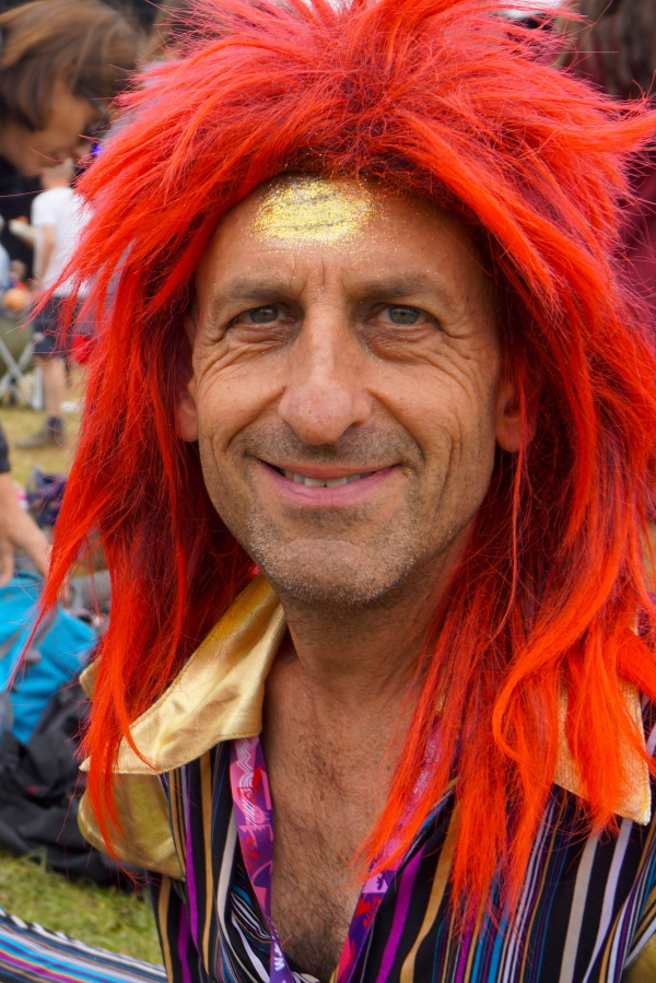 Face in the WOMAD crowd