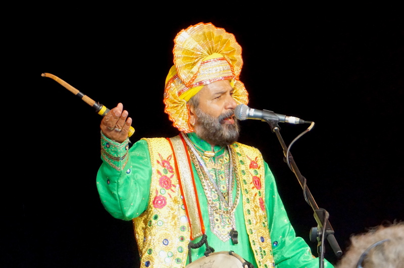 King Gurcharan plays WOMAD festival