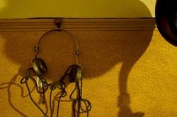 1940's headphones