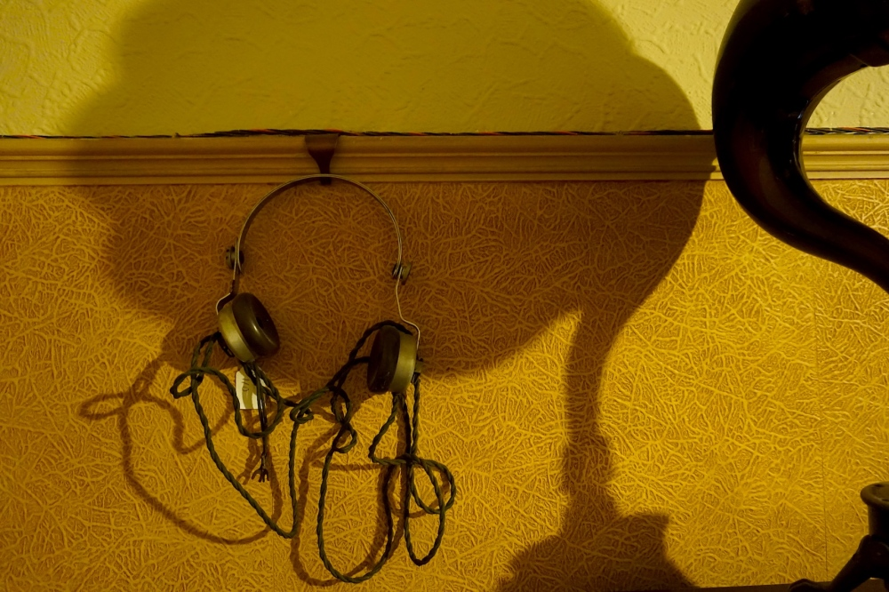 1940's headphones