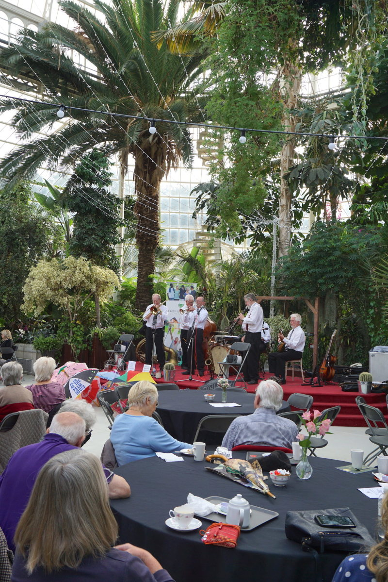 Afternoon Jazz at the Palm House