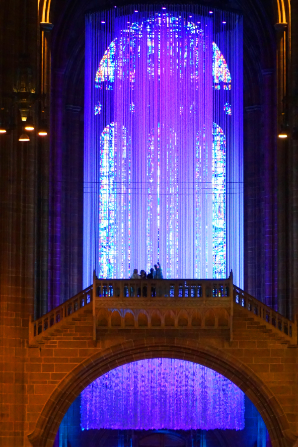Liverpool Anglican Cathedral peace doves