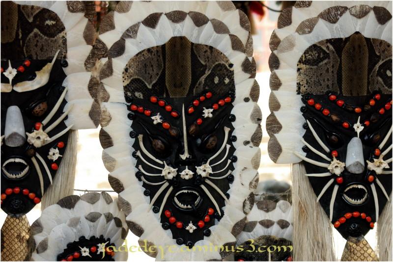 Native Masks - Manaus, Brasil