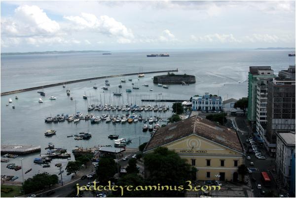 São Marcelo Fort, the marina & Mercado Modelo