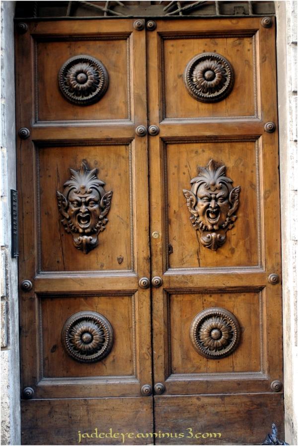 Doors of Italy - Sienna