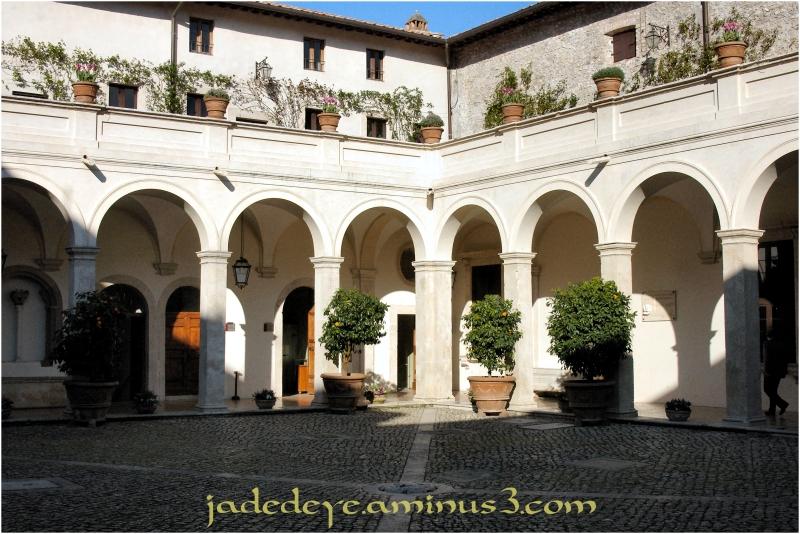 Forecourt at the Villa d'Este