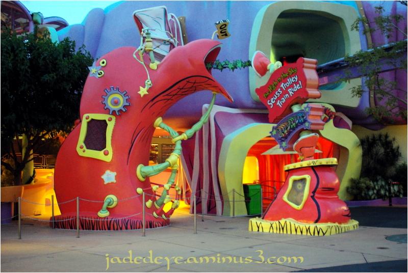 Seuss Trolly Train Ride