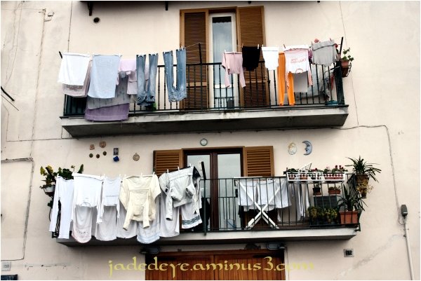 Wash Day in Salerno